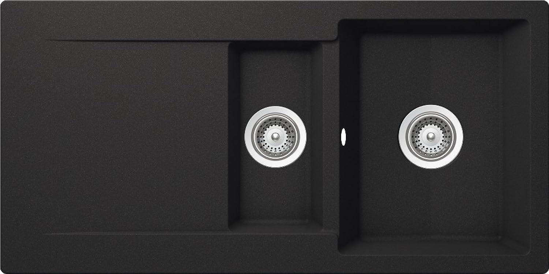 Schock Küchenspüle Epure D-150, Auflage in Onyx