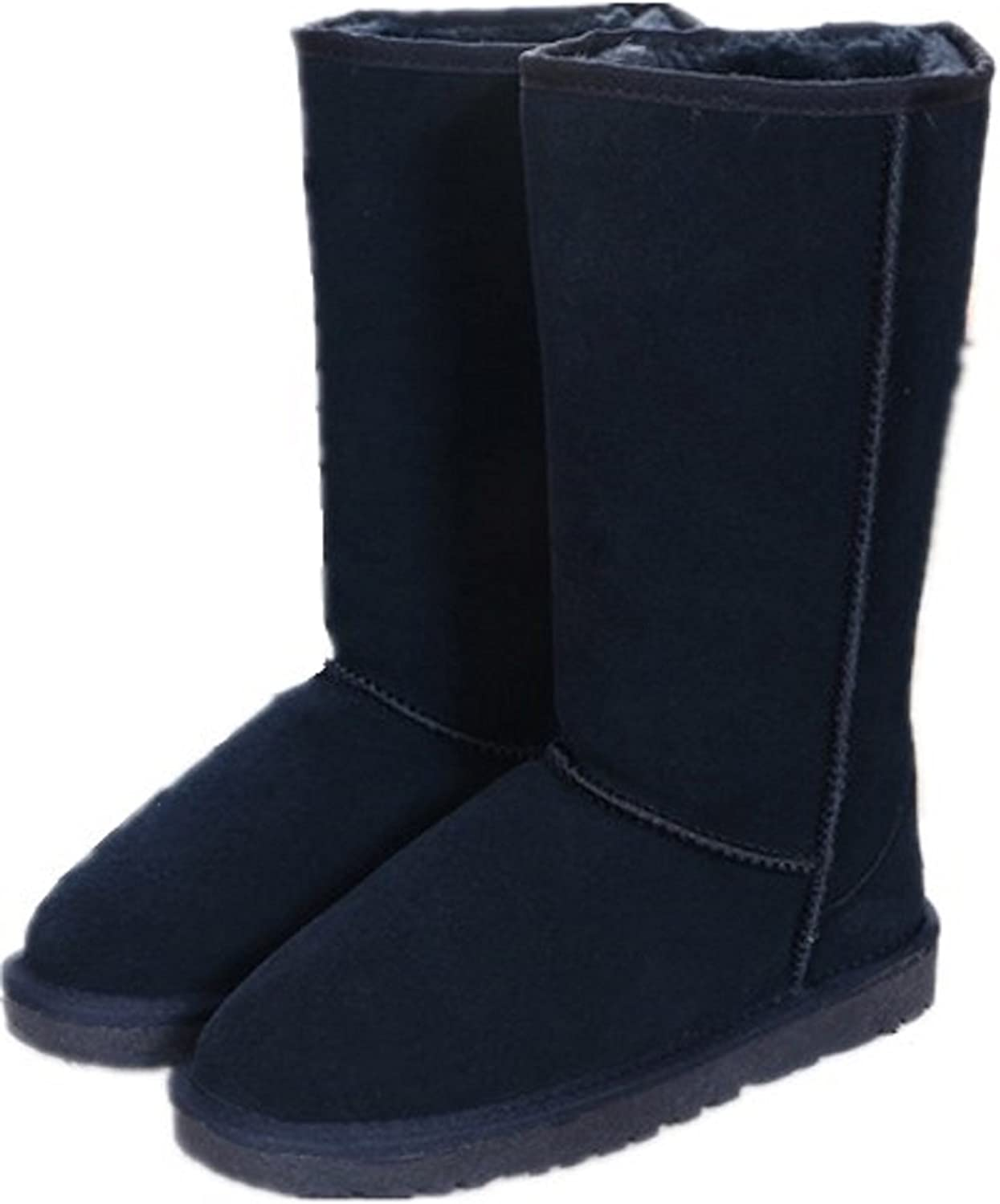 Duo 2017 New in Australia Tall Tube Thicker Leather Snow Boots
