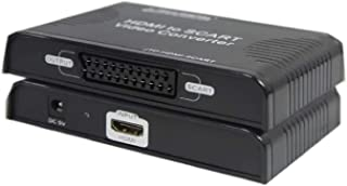 J-Tech Digital JTD-HDMI-SCART Premium Quality 1080p HDMI to SCART Video Converter Adapter Downscaler for SCART TV Projecto...