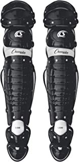 Champion Sports Baseball Catcher Leg Guards: Knee and Shin Guard Protection for Baseball and Softball and Styles