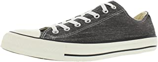 Converse Mens CT All Star Ox Washed Blk SZ 8.5