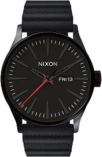 NIXON/THE SENTRY LEATHER (NIXON × STAR WARS) 腕時計 KYLO BLACK A105SW2444-00