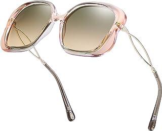 Polarized Sunglasses for Women UV400 Lens Retro Charming Charisma Queen Pop Polarized Sun Eye Glass