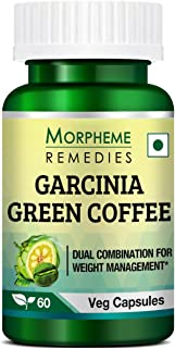 Morpheme Remedies Garcinia Green Coffee Bean Extract for Weight Management - 60 Veg Capsules