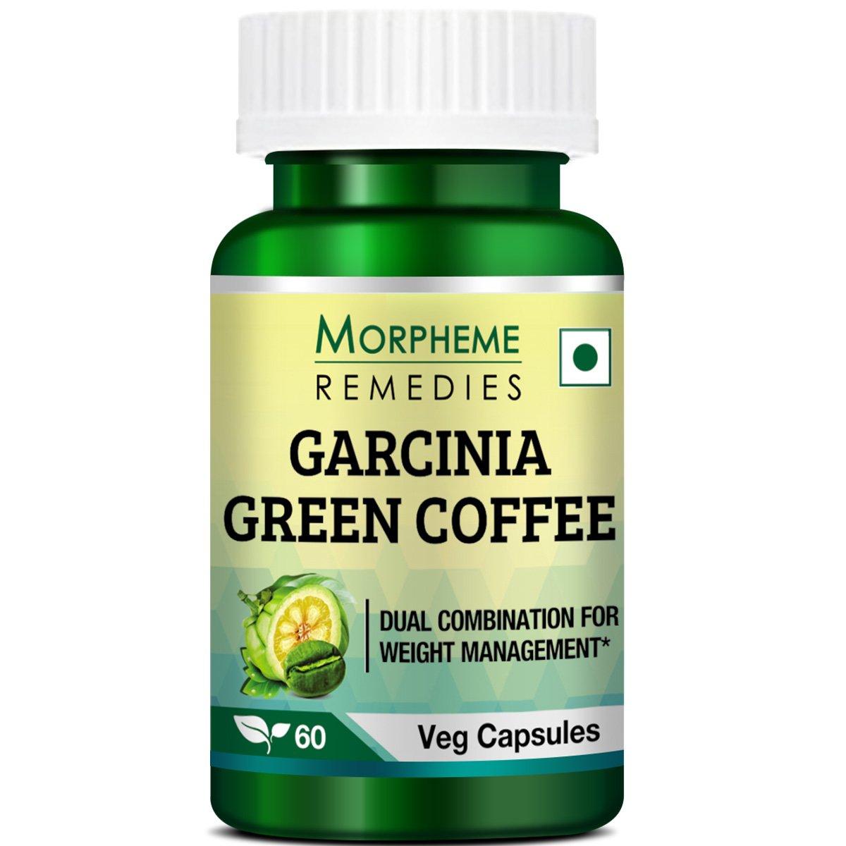 Morpheme Remedies Garcinia Green Coffee Bean Extract For Weight