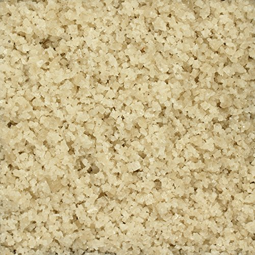 The Spice Lab French Grey (Coarse) Sea Salt - 1 Lb Bag Natural, Traditional French Gray Salt - Imported Kosher GF
