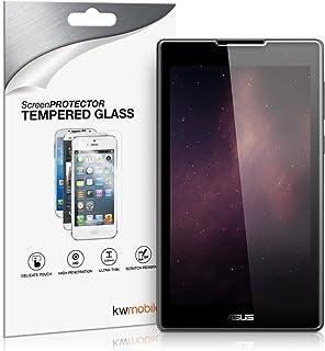 kwmobile Pellicola Protettiva in Vetro Temperato Trasparente Compatibile con ASUS ZenPad C 7.0 (Z170C / Z170CG) - qualità ...