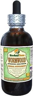 Wormwood (Artemisia Absinthium) Glycerite, Organic Dried Herb Alcohol-Free Liquid Extract 2 oz