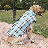 ZHXY Chaqueta Abrigada Perros,Abrigo Impermeable para Perros,Ropa a Prueba de Viento,Chaleco para Perros,Ropa para Mascotas,para Perros Pequeños Medianos y Grandes.