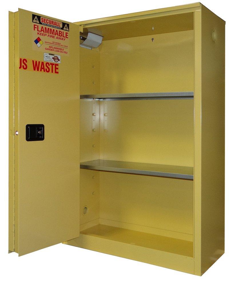SECURALL W2045 Hazardous Waste Cabinet shop 18-Gau OFFicial site Storage Flammable