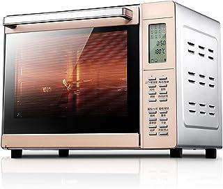 DIOE Horno digital inteligente, función de tostado/horneado/barbacoa, 33L de gran capacidad, velocidad de 6 tubos, circulación de aire caliente tridimensional caliente con lámpara de horno