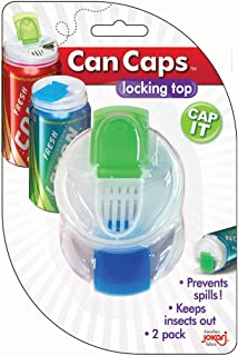 Jokari Snap and Sip Can Caps, Pack of 2