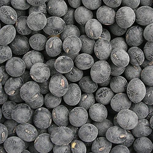 四万一商店丹波黒豆 2L玉 - 岡山県産 国産 黒豆のなかでも特に大粒でやわらかい四万一商店の丹波黒豆2L玉です♪ (500g)