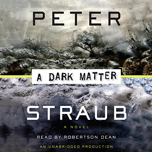 A Dark Matter audiobook cover art