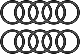 uxcell O-Rings Nitrile Rubber, 25mm Inner Diameter, 33mm OD, 4mm Width, Round Seal Gasket Pack of 10