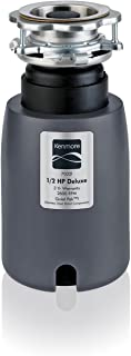 Kenmore 70321 1/2 horsepower, 2600 RPM Garbage Disposer w/ stainless steel grinding chamber