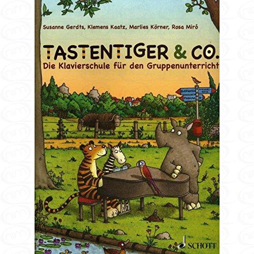Tastentiger + Co - arrangiert für Klavier [Noten/Sheetmusic] Komponist : Gerdts Susanne