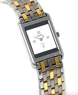 Concord Delirium Steel and 18k Gold 2.8mm Thin Women's Watch