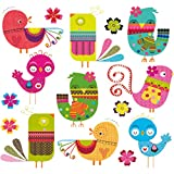 Hergon Bonitos parches de animales para niños, pegatinas de bricolaje, parche para planchar, para bolsos, sombreros, vaqueros, etc.