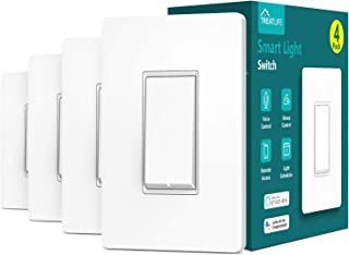 Treatlife Smart Light Switch, Neutral Wire Needed, 2.4Ghz...