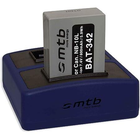 Powertrust 2pack 1300mah Nb 10l Nb10l Akku Und Led Usb Elektronik