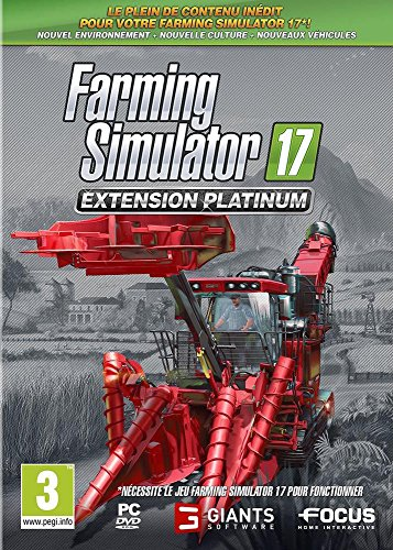 Farming Simulator 17 - Extension Platinum [Edizione: Francia]