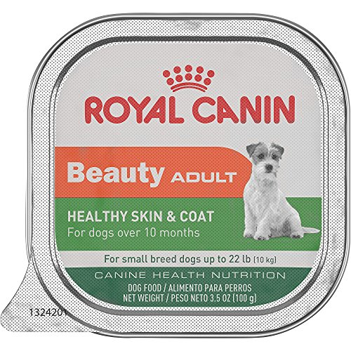 Royal Canin Canine Health Nutrition Beauty Adult Tray Dog Food, 3.5 oz (Pack of 24)