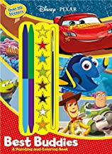 Disney Pixar Best Buddies: A Painting and Coloring Book with Stickers