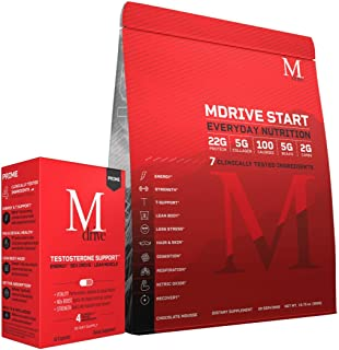 Mdrive Prime and Mdrive Start Supports Energy, Strength, Lean Muscle, Digestion, Immune Health, Nitric Oxide and Recovery