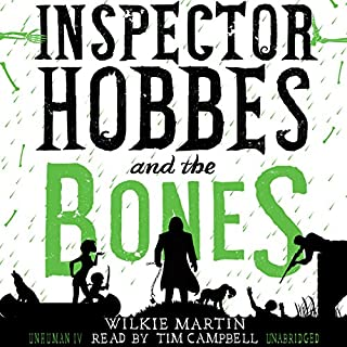 Inspector Hobbes and the Bones audiobook cover art