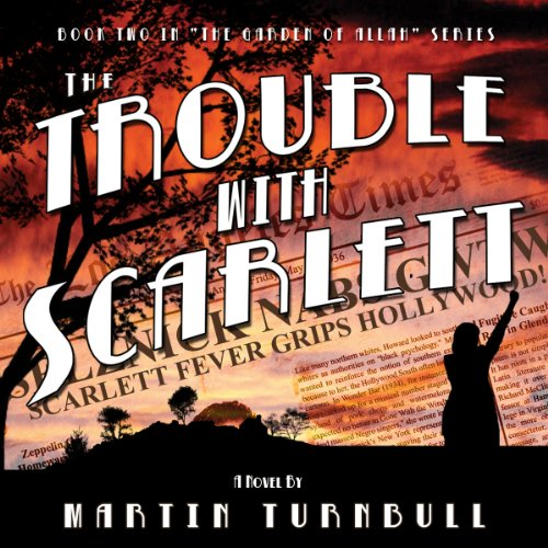 The Trouble with Scarlett audiobook cover art