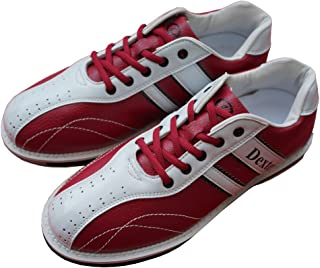 Dexter ボウリング シューズ Ds38 ワイン・ホワイト デクスター ボウリング用品 靴 ボーリング グッズ