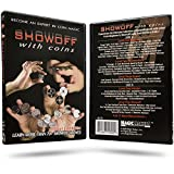 Magic Makers Showoff with Coins Instructional Magic DVD with Magician Ben Salinas Learn Over 70 Magic Tricks & Moves with Coins - Coin Magic Tricks