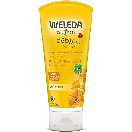 WELEDA Calendula Babywash Corpo e Capelli - Docciashampoo, 200 ml