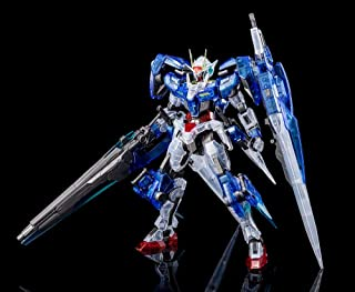 GN-0000GNHW/7SG 00 Gundam Seven Sword/G [Gunpla Expo Exclusive Clear Color]: Master Grade Gundam 00 1/100 Model Kit + 1 Official Japanese Gundam Trading Card Bundle (MG / 22255)