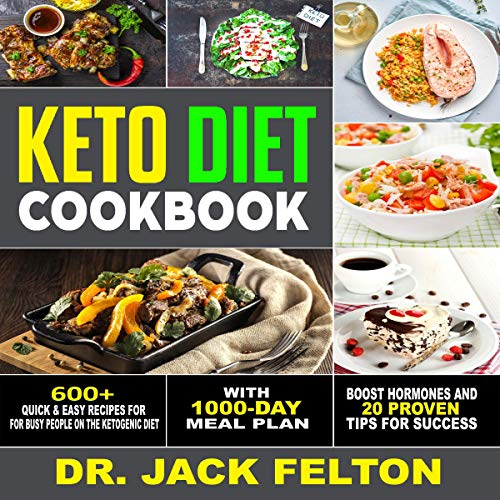 Keto Diet Cookbook Titelbild
