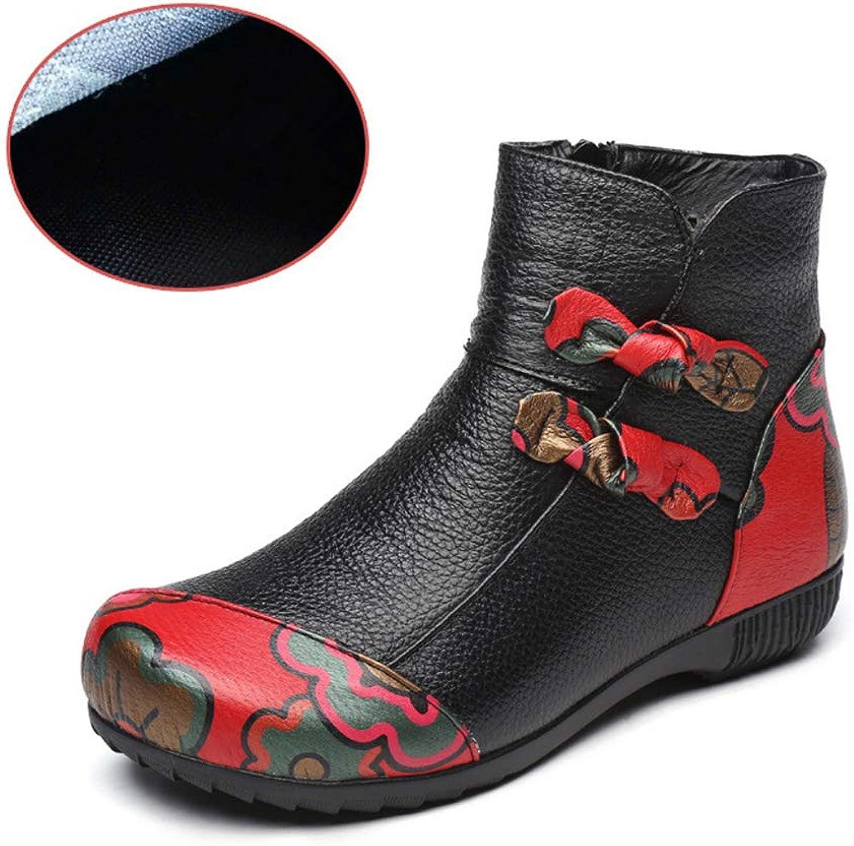 Super color Women's Waterproof Winter Snow Boots Warm Ankle Boots Platform Thick Winter Combat Booties