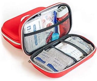 Finoki Verbandskasten Auto, Erste Hilfe Koffer Verbandtasche gefüllt für Auto, 14Stk