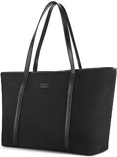 chiceco Basic 14-Inch Laptop Bolsa de Trabajo para Las Mujeres–Oxford Nylon/fotográfica Longitud