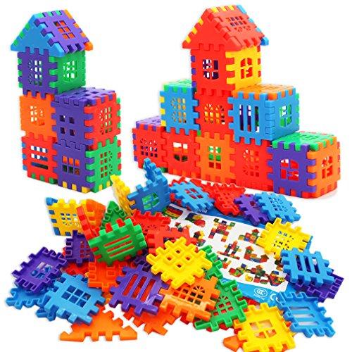 MICHLEY Kids Builders Blocks Play Set
