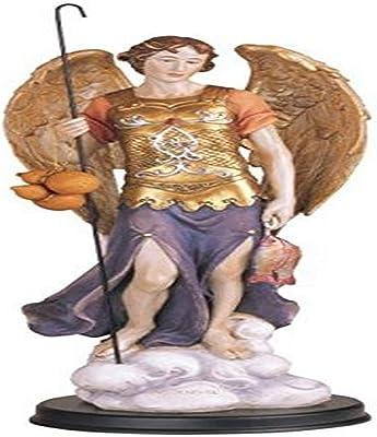 "George S. Chen Imports Archangel Raphael Holy Figurine Religious Decor, 12"""