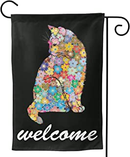 DIYACD Seasonal Life Garden Flags Colorful Design Small Holiday Garden Flags Double Sided Design for Holidays Premium Quality 28x40 inch