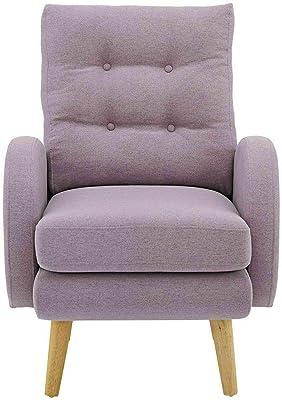 Amazon.com: Lohoms - Silla de tela de acento moderno, sofá ...