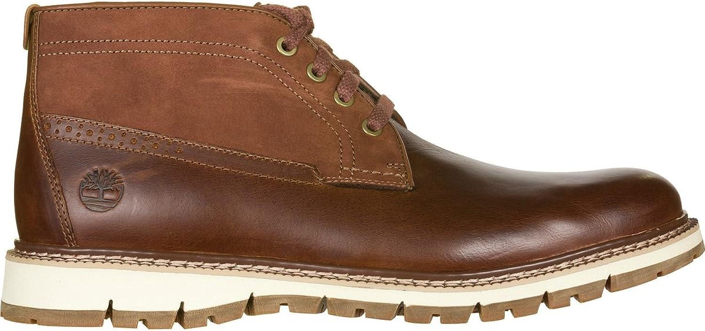 Timberland Britton Hill Chukka Boot - Men's Medium Brown Brown Brown Full Grain, 7.5 B01N9O90I3 cb8635