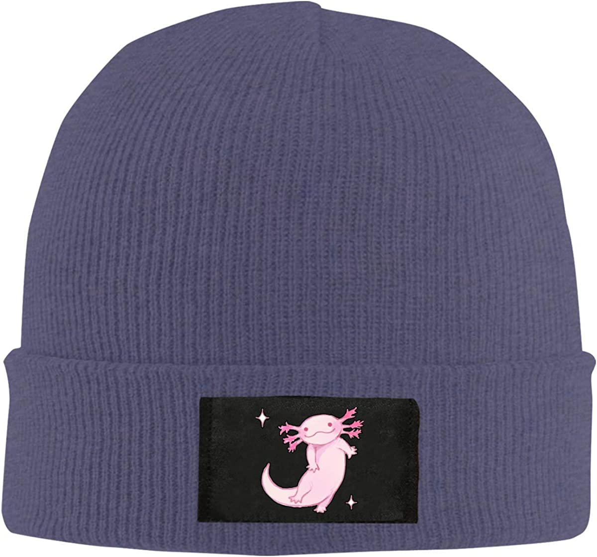 merahans Cartoon Pink Axolotl Unisex Today's only sale Casual Beanie Skull Cap