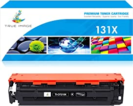 True Image Compatible Toner Cartridge Replacement for HP 131A 131X CF210A CF210X Laserjet Pro 200 Color M251nw MFP M276nw M251n M251 M276n M276 Canon MF8280Cw (Black, 1-Pack)