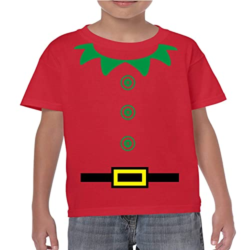 e52842d04 Christmas Elf Funny Kids T-Shirt / Costume. Childrens Xmas Party Top  ,Present