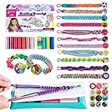 Bpocz Friendship Bracelet Making Kit for Girls Toys, DIY Making Bracelets String Craft Kits and Art Travel Gifts, Kids Jewelry Kit Birthday Gifts for Teen Girls Age 6 7 8 9 10 11 12 Years Old