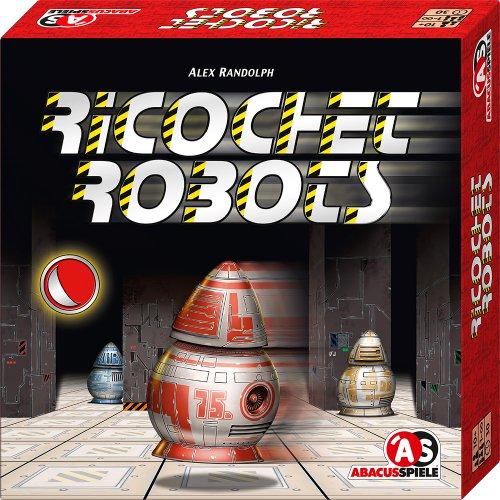 ABACUSSPIELE 03131 - Ricochet Robots, Brettspiel, Für 1 bis unendlich viele Spieler: Spieldauer 30 Minuten, Für 1 bis unendlich viele Spieler