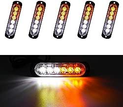 YEEGO Barres de Travail LED Lumi/ères Encastr/é Brouillard /Étanche Conduisant /Éclairage 20W LED Light Pods 2 Piezas pour Voiture Hors Route 2 a/ños de garant/ía